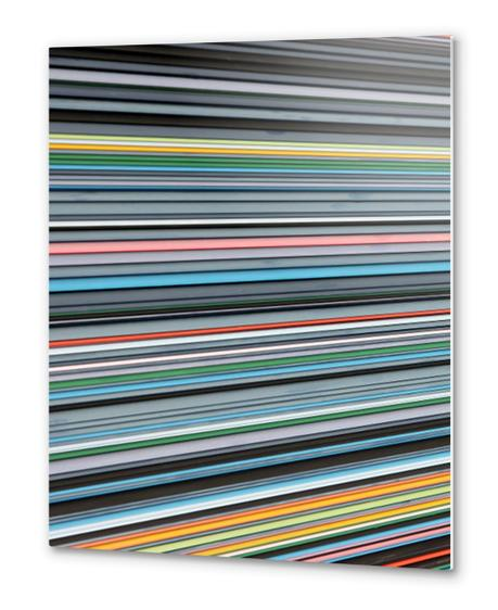 Color perspective Metal prints by Vic Storia