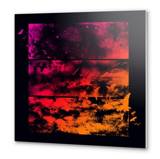 Across The Atmosphere Metal prints by Tobias Fonseca