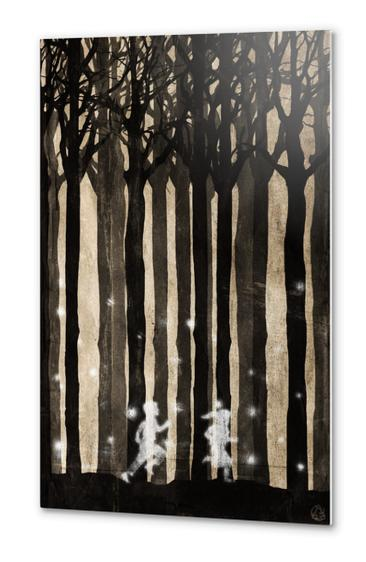 Forest Metal prints by Seamless