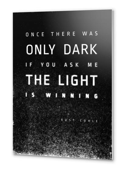 LIGHT vs DARK Metal prints by DANIEL COULMANN