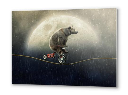 Balancing Act (Under the Weather) Metal prints by Seamless