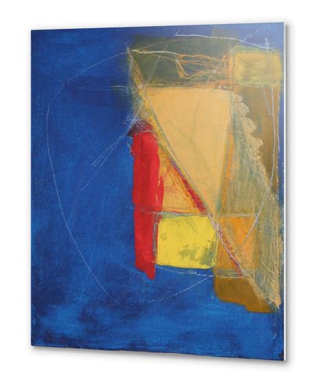 Bleu Profond Metal prints by Pierre-Michael Faure