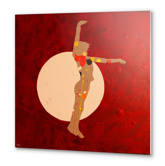 Dancing In The Moon Metal prints by Pierre-Michael Faure