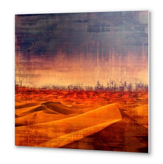 Desert Metal prints by Malixx