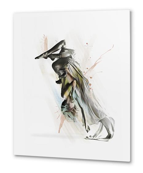Drift Contemporary Dance Two Metal prints by Galen Valle