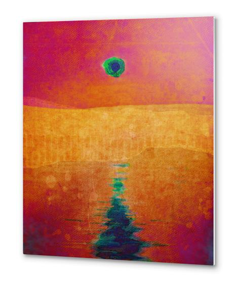 Red Eclipse Metal prints by Malixx