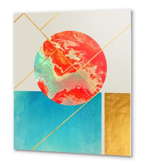 Earth & Sea Metal prints by Uma Gokhale