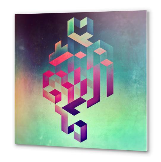 isyhyyrt dyymynd spyyre Metal prints by spires