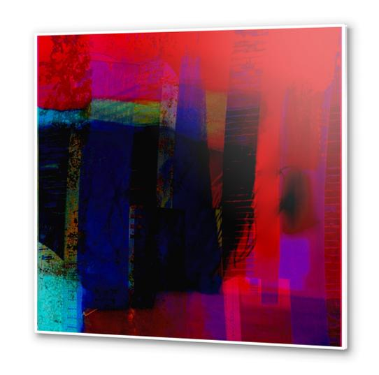 Ombre Metal prints by jacques chiron