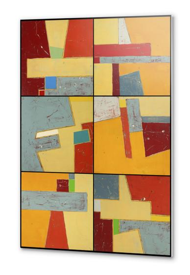 Imbrications Series Metal prints by Pierre-Michael Faure