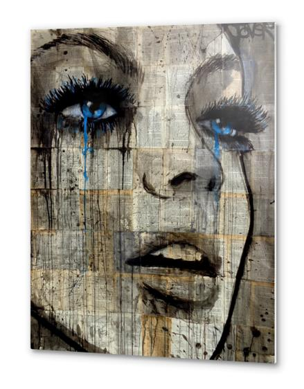 Infusion Metal prints by loui jover