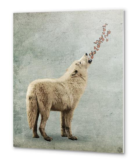 Howl Metal prints by Seamless