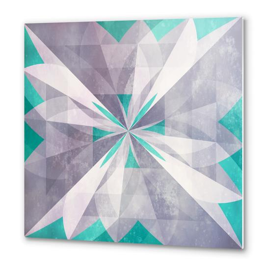 Purple mint Metal prints by DejaReve