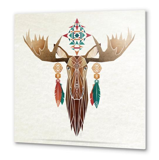 moose Metal prints by Manoou