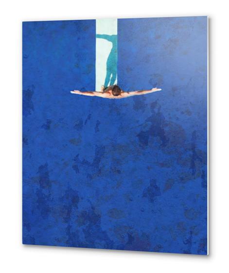 Le Plongeoir Metal prints by Malixx