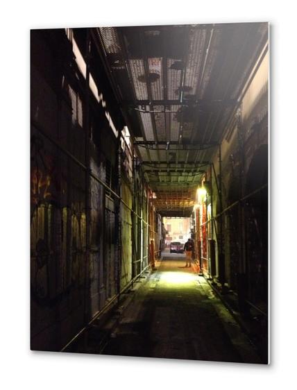 Ruelle de Lyon Metal prints by Ivailo K