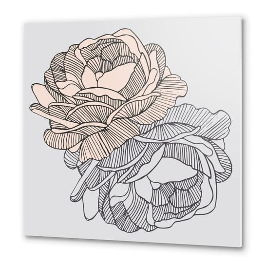 BLOOMS Metal prints by mmartabc