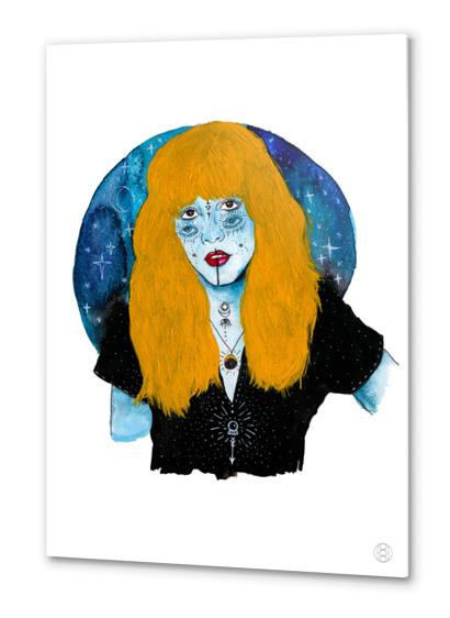 GYPSY WITCH Metal prints by Mermaids and Monsters