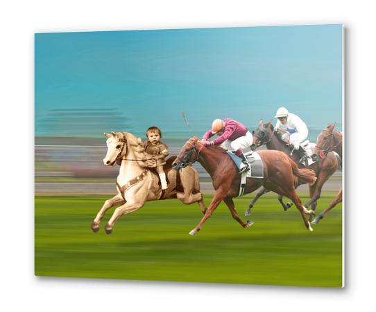 The Race Metal prints by tzigone