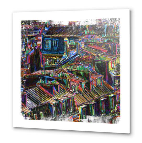 Roofs in Paris Metal prints by Malixx