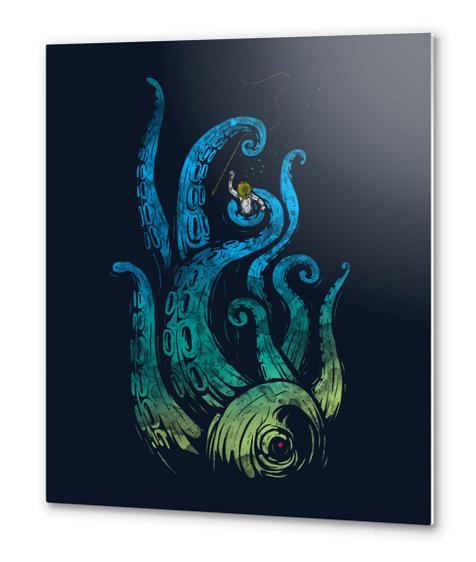 Undersea Attack Metal prints by StevenToang