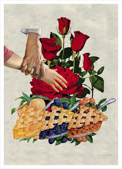 Diet Art Print by Lerson