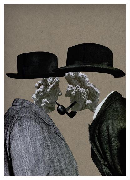 Smoke (II) Art Print by Lerson