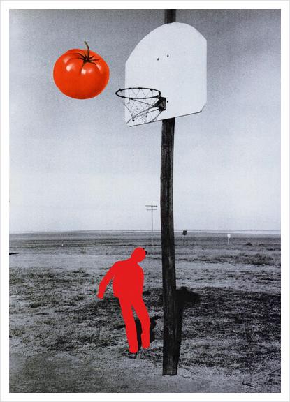 Tomato Art Print by Lerson