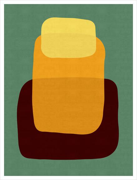 Abstrato I Art Print by Vitor Costa