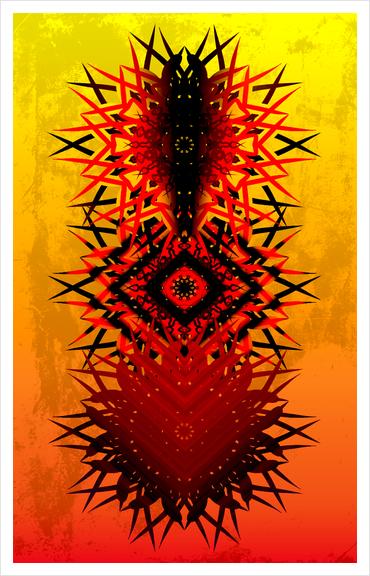 KADAMPA Art Print by Chrisb Marquez