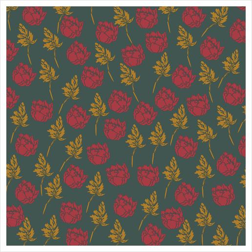 Floralz #10 Art Print by PIEL Design