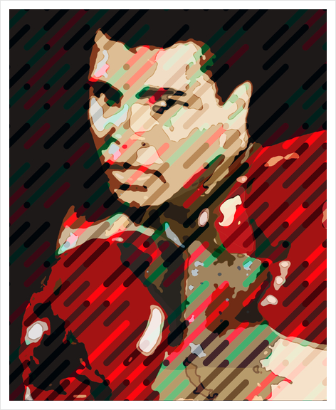 Mythic Ali Art Print by Malixx