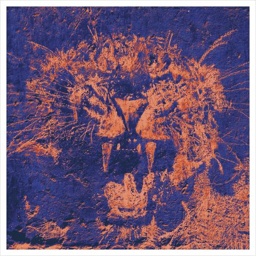 Bichro-Tiger Art Print by Malixx
