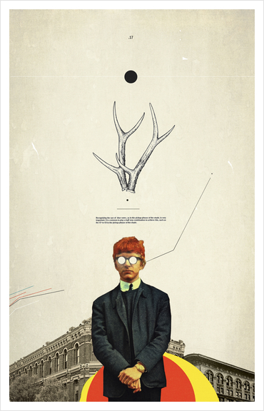 Bright Posture Art Print by Frank Moth