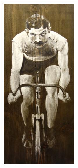 Le Champion Art Print by Georgio Fabrello