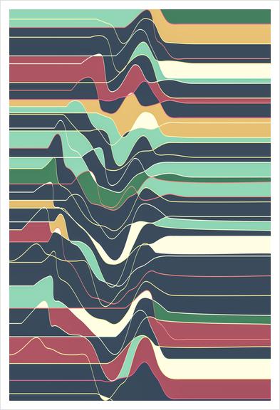 Don´t Move IX Art Print by Metron