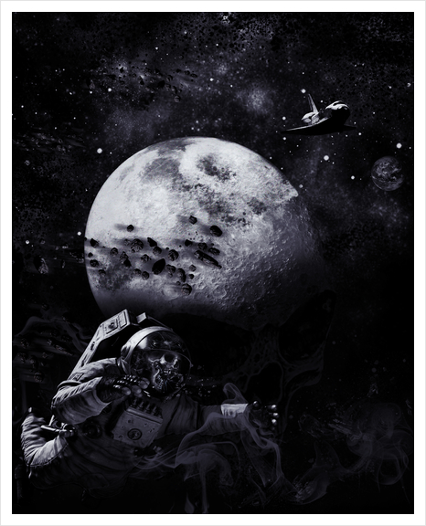 Dark of the Moon Art Print by dEMOnyo