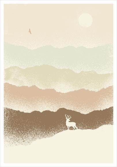 Quietude Art Print by Florent Bodart - Speakerine