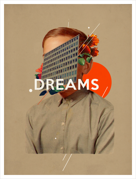Dreams Art Print by Frank Moth