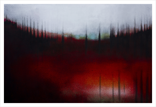 FOREST SOUND Art Print by db Waterman