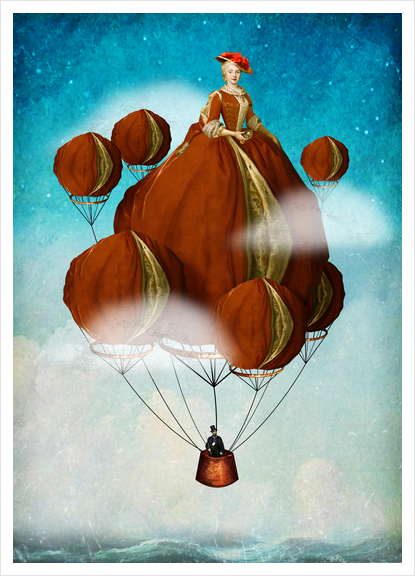 Flying Away Art Print by DVerissimo