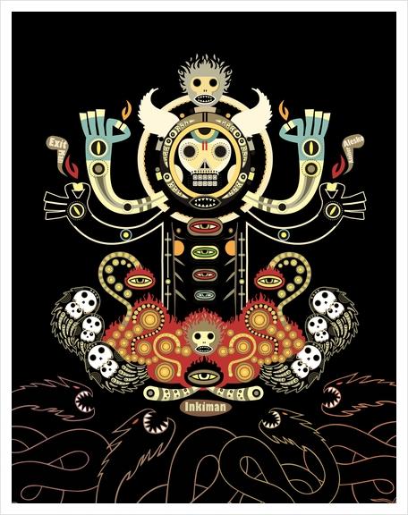 Manitou Art Print by Exit Man