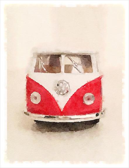 My Mythic Van Art Print by Malixx