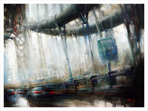 NEWYORK2 Art Print by Vantame