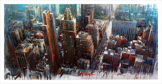 NEX YORK Art Print by Vantame