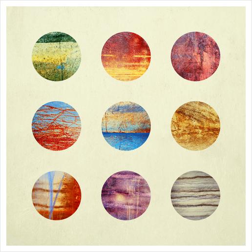 Planets Art Print by Elisabeth Fredriksson