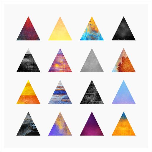 Pyramids Art Print by Elisabeth Fredriksson