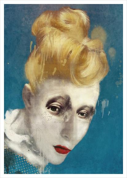 Selfish Jean Art Print by Sarah Jarrett Art