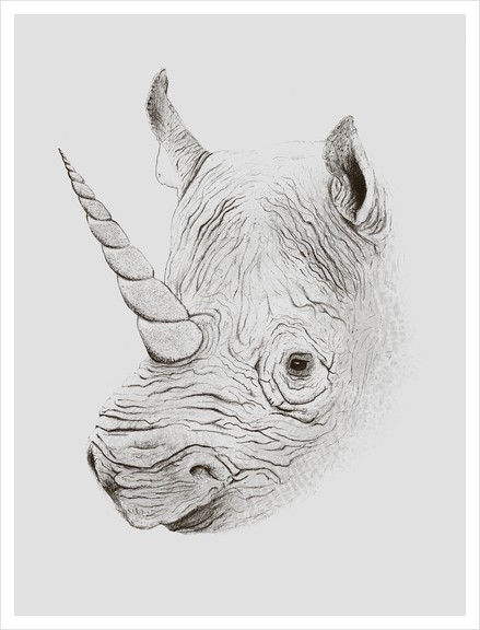 Rhinoplasty Art Print by Florent Bodart - Speakerine