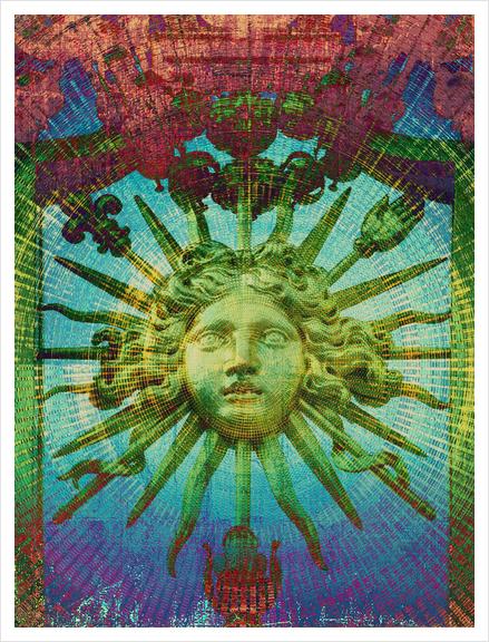 Le Roi Soleil Art Print by Malixx